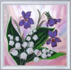 Набор для вышивки бисером Весеннее настроение Баттерфляй (Butterfly) 250Б