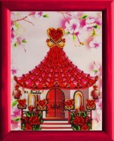 Схема для вышивки бисером Домик Любви Баттерфляй (Butterfly) СМ143 - 12.00грн.