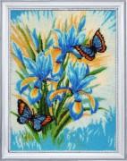Набор для вышивки бисером Небесные цветы