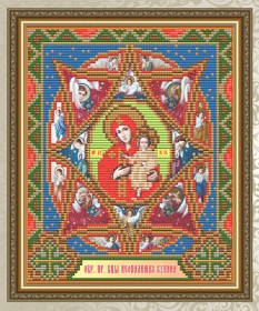 Набор для выкладки алмазной мозаикой Неопалимая Купина  Art Solo АТ5013 - 248.00грн.