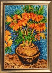 Набор для вышивки бисером Цветы в медной вазе (по мотивам картины В. Ван Гога) Баттерфляй (Butterfly) 170Б - 630.00грн.