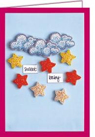 Набор - открытка 3D для вышивки бисером  Среди звезд и облаков Абрис Арт АОО-001 - 150.00грн.