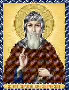 Схема для вышивки бисером на атласе Св. Преподобный Виталий Александрийский
