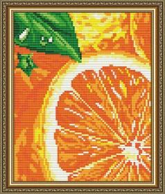 Набор для выкладки алмазной мозаикой Апельсин, , 280.00грн., АТ5571, Art Solo, Натюрморты