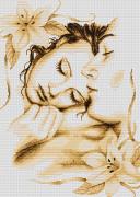 Набор для вышивки крестом Влюблённая пара