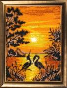 Набор для вышивки бисером Танец на закате