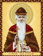 Схема для вышивки бисером на атласе Св. Преподобномученник Вадим Персидский