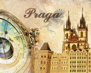 Схема вышивки бисером на атласе Прага