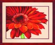 Схемы для вышивания бисером на авторской канве Цветок