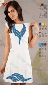 Заготовка женского льняного платья для вышивки бисером Biser-Art Bis7040 - 400.00грн.