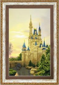 Набор для частичной вышивки крестом  Дворец для принцессы, , 428.00грн., РК-118, Чарiвна мить (Чаривна мить), Пейзажи