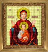 Набор для вышивки ювелирным бисером Икона Знамение
