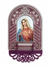 Набор для вышивки иконы с рамкой-киотом Непорочное Сердце Марии Новая Слобода (Нова слобода) ВК1025 - 205.00грн.