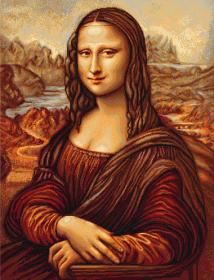 Набор для вышивки крестом Мона Лиза Luca-S В416 - 864.00грн.