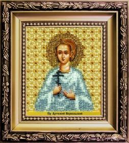 Набор для вышивки бисером Икона святой праведный Артемий Веркольский, , 172.00грн., Б-1208, Чарiвна мить (Чаривна мить), Именные иконы