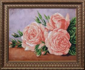 Набор для вышивки бисером Богема, , 515.00грн., Б-189 МК, Магия канвы, Цветы