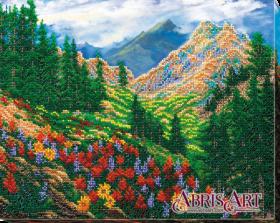 Набор для вышивания бисером Горный пейзаж
