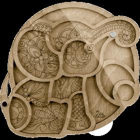 Органайзер для бисера с крышкой Волшебная страна FLZB-033 - 130.00грн.