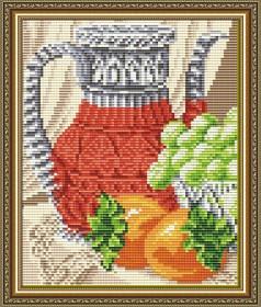 Набор для выкладки алмазной мозаикой Хрустальный натюрморт. Диптих 1, , 280.00грн., АТ5539, Art Solo, Картины из нескольких частей