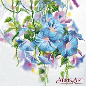 Схема вышивки бисером на холсте Вьюнок, , 53.00грн., АС-557, Абрис Арт, Цветы