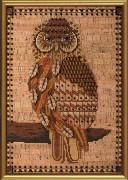 набор для вышивки крестом Ночная птица