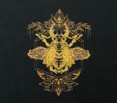 Набор для вышивки крестом Золотой жук Абрис Арт АН-068