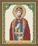 Схема вышивки бисером на габадние Св. Блгв. Князь Святослав