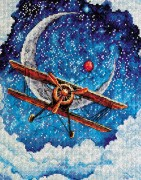 Набор для вышивки крестом Над облаками