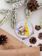 Набор - магнит для вышивки бисером на акриловой основе Вкусный праздник
