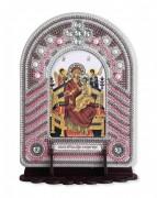 Набор для вышивки иконы с рамкой-киотом Богородица Всецарица