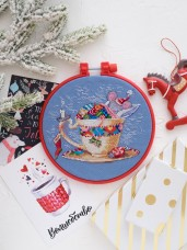 Набор для вышивки крестом Сладких снов Абрис Арт АНМ-015
