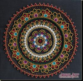 Набор для вышивки бисером на холсте Мандала Абрис Арт АВ-691 - 531.00грн.