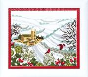 Набор для вышивания крестом Crystal Art Рождественская сказка
