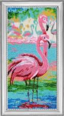 Набор для вышивки бисером Вечерние фламинго Баттерфляй (Butterfly) 523Б