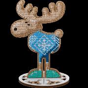 Набор для вышивки бисером по дереву Олень