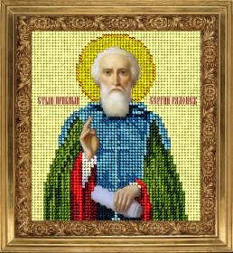 Набор для вышивки ювелирным бисером Св. Сергий Радонежский Краса и творчiсть 10514 - 171.00грн.