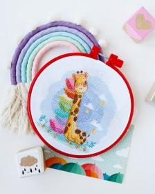 Набор для вышивки крестом Спящий жирафик Абрис Арт АНМ-044 - 142.00грн.