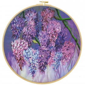 Набор для вышивания бисером Глициния Абрис Арт АВ-711 - 424.00грн.