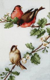 Набор для вышивки крестом Птички