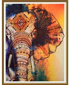 Набор для вышивки бисером Слон