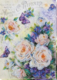 Набор для вышивания бисером Цветы для любимой Абрис Арт АВ-716 - 429.00грн.