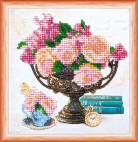 Набор для вышивки бисером Садовые цветы