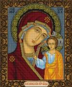 Набор для вышивки крестом Казанская Божья Матерь