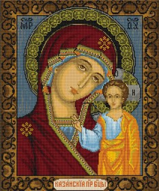 Набор для вышивки крестом Казанская Божья Матерь Luca-S В436 - 369.00грн.