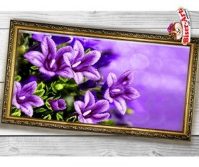 Схема вышивки бисером на габардине Панно Дзвоники Biser-Art 3060006 - 130.00грн.
