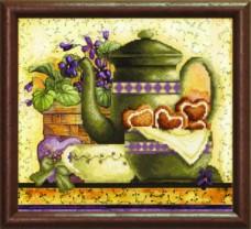 Схемы для вышивания бисером на авторской канве Чаепитие Чарiвна мить (Чаривна мить) СБ-288