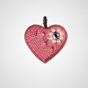 Набор для вышивки подвеса Сердце нежность