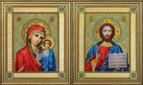 Набор для вышивки бисером Венчальные иконы Картины бисером Р-364 - 536.00грн.