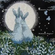 Набор для вышивки крестом Лунные зайцы