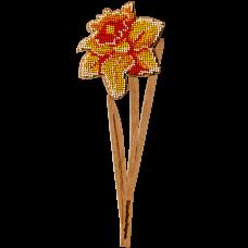 Набор для вышивки по дереву Нарцисс Волшебная страна FLK-199